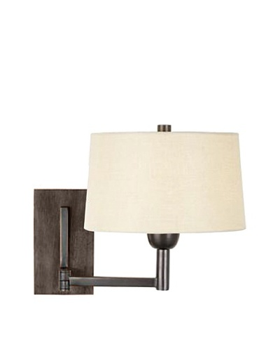 Aurora Lighting Swing Arm Wall Sconce [Antique Bronze]