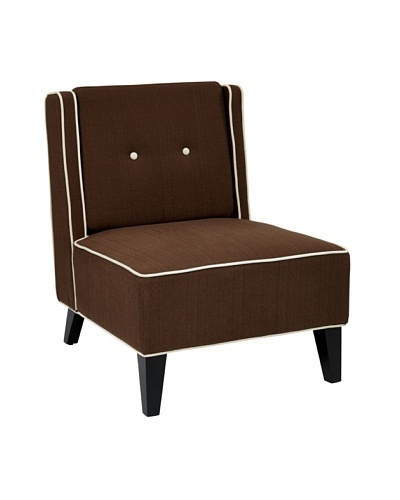 Avenue 6 Marina Chair, Woven Chocolate
