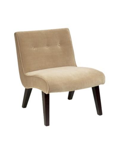 Avenue 6 Curves Valencia Chair, Coffee