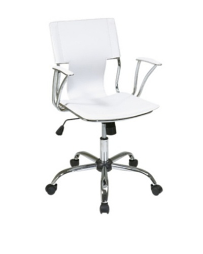 Avenue 6 Dorado Office Chair, White