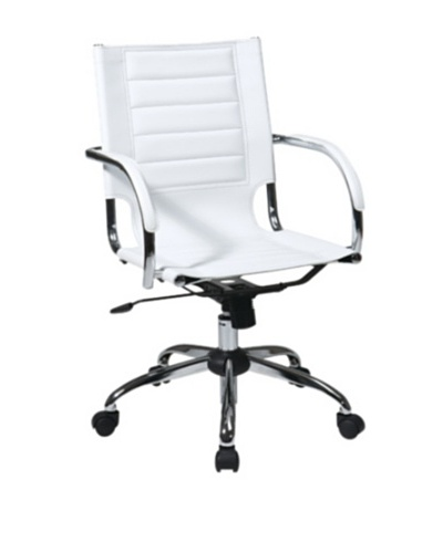 Avenue 6 Trinidad Chair, White