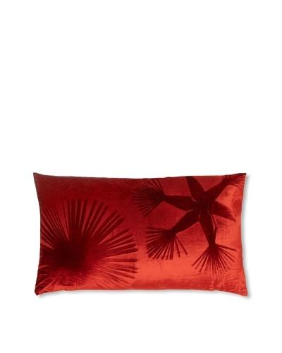 Aviva Stanoff Double Sunburst on Red on Velvet