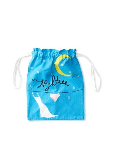 Aviva Stanoff Nighties Laundry Bag, Blue/White