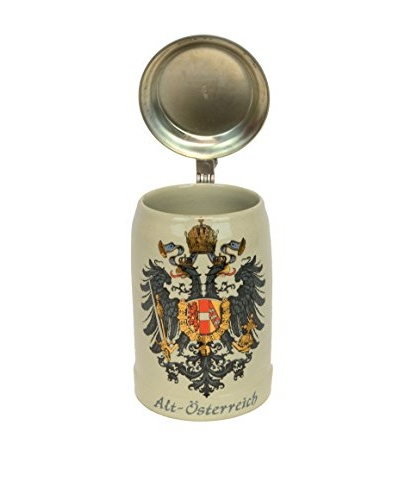 Original King Beer Stein, Crème/Multiple Colors