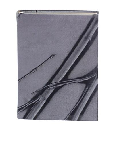 Aviva Stanoff Gilt-Edged Velvet Keepsake Wide-Ruled Journal, Solona