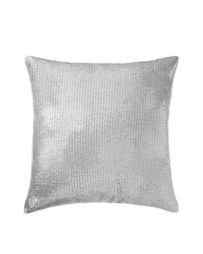 Aviva Stanoff Mercury Sequins Pillow, Diamond