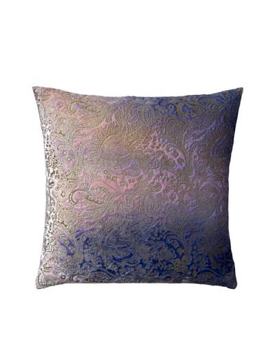 Aviva Stanoff Boho Velvet Pillow, Indigo
