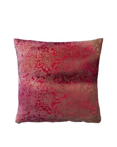 Aviva Stanoff Boho Velvet Pillow, Berry