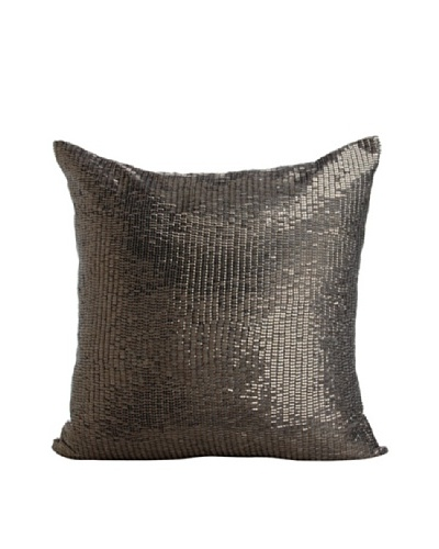 Aviva Stanoff Mercury Sequins Pillow, Smoke