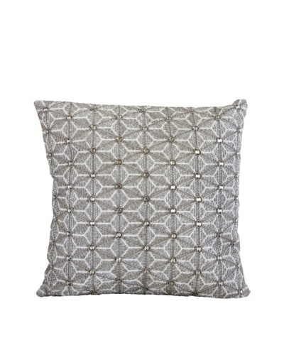Aviva Stanoff Origami Pillow, Light Grey