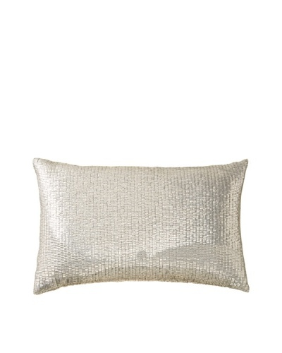 Aviva Stanoff Mercury Sequins Pillow, Diamond