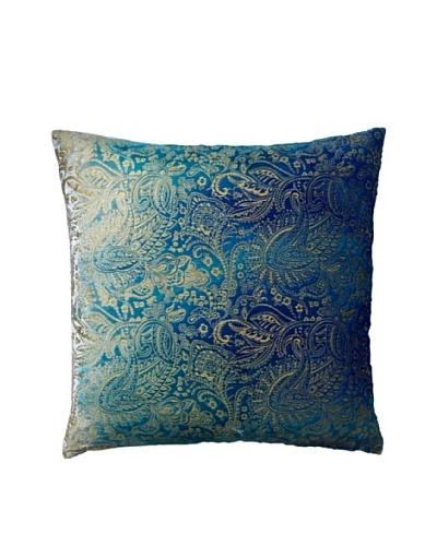 Aviva Stanoff Boho Velvet Pillow, Peacock