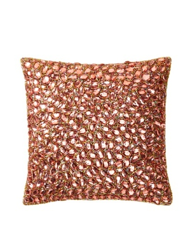 Aviva Stanoff Jewel Pillow, Tobacco