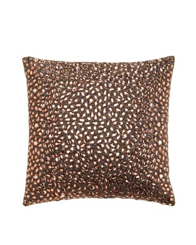 Aviva Stanoff Jewel Pillow, Cocoa
