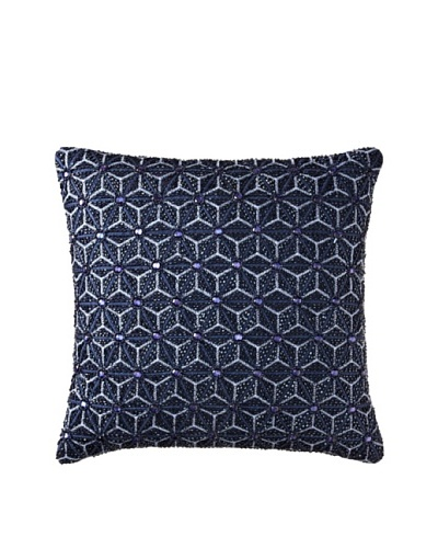 Aviva Stanoff Origami Pillow, Navy