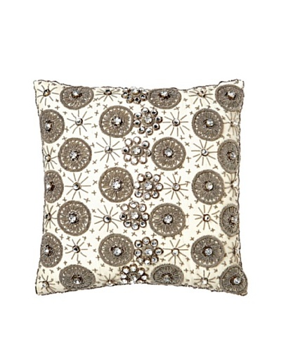 Aviva Stanoff Ceremony Pillow, Crème