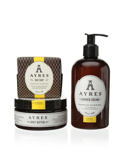 AYRES Pampas Sunrise 3-Piece Collection
