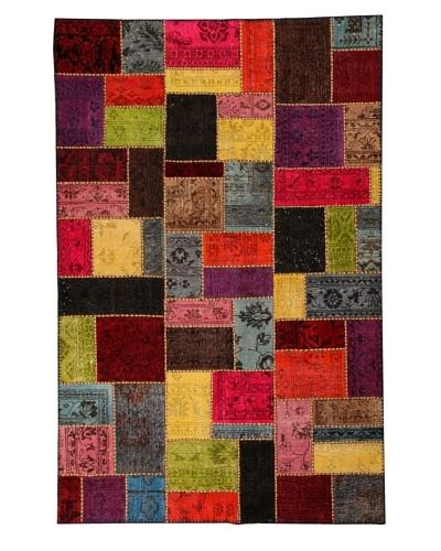 Azra Imports Overdyed Vintage Patchwork Rug [Multi]