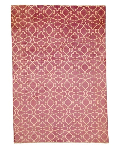 Azra Imports Vogue Rug, Purple/Ivory, 5' 5 x 7' 10