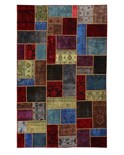 Azra Imports Overdyed Vintage Patchwork Rug [Multi]