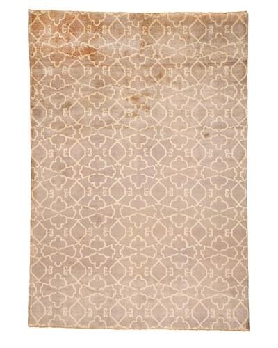 Azra Imports Vogue Rug, Grey/Ivory, 5' 4 x 7' 10