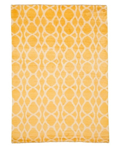 Azra Imports Vogue Rug, Yellow/Ivory, 5' 4 x 7' 5