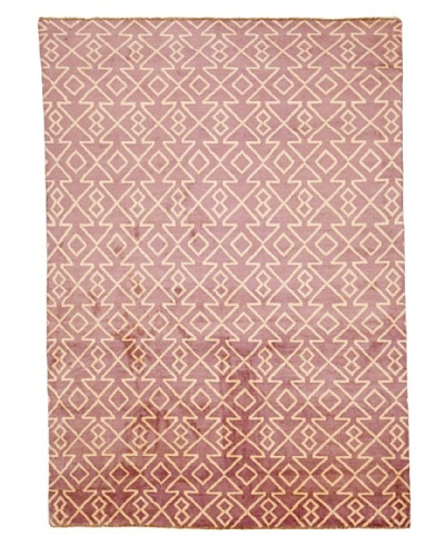 Azra Imports Vogue Rug, Purple/Ivory, 5' 5 x 7' 6