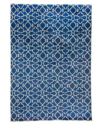 Azra Imports Vogue Rug, Blue/Ivory, 5' 5 x 7' 10