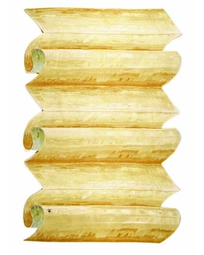 Ba Crease Rug, Cream/Gold Multi, 6' x 9'As You See