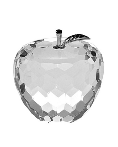 Badash Crystal Faceted Apple Paperweight