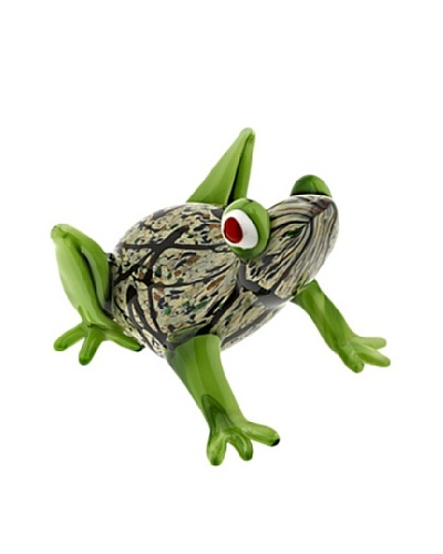 Badash Crystal Art Glass Frog