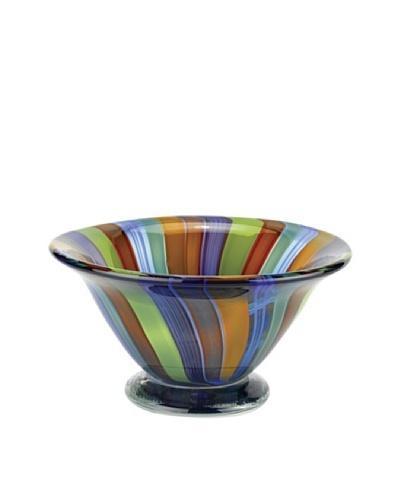Badash Crystal Art Glass Rainbow Bowl
