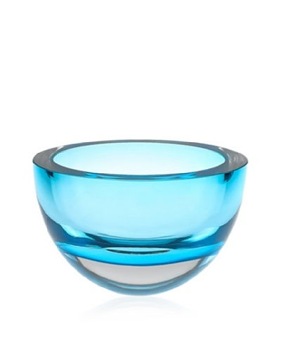 Badash Crystal Penelope 6 Bowl, Blue