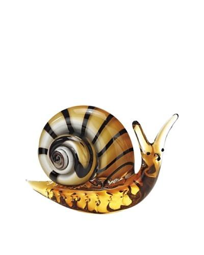 Badash Crystal Art Glass Snail