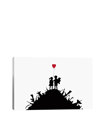 Banksy Kids On Guns Hill Giclée Canvas Print