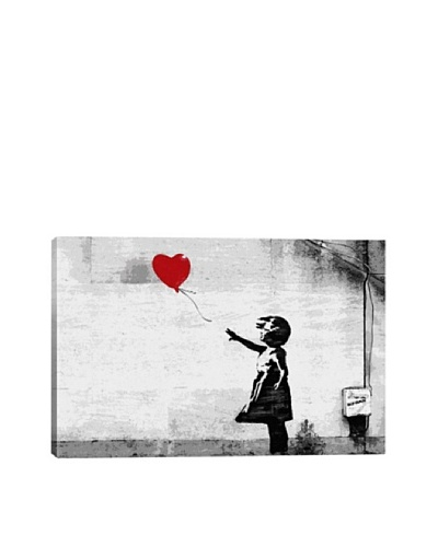Banksy Girl with a Balloon Giclée Canvas Print