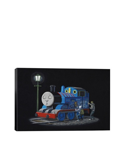 Banksy Thomas The Tank Engine Giclée Canvas Print