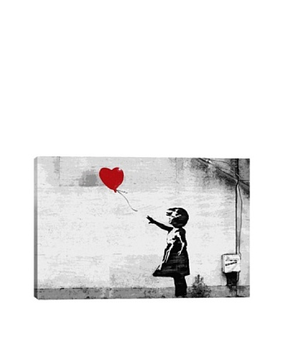 Banksy Girl With A Balloon Ultrachrome Canvas Print