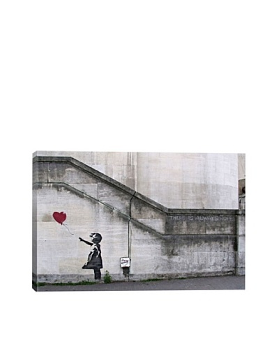 Banksy There Is Always Hope Balloon Girl Giclée Canvas Print