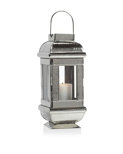 Barclay Butera Amanjena Candle Lantern, Silver