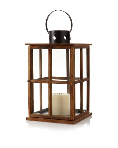 Barclay Butera Equestrian Window Pane Design Lantern