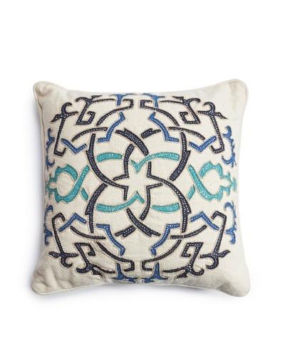 Barclay Butera Fes Throw Pillow, Blue, 16 x 16