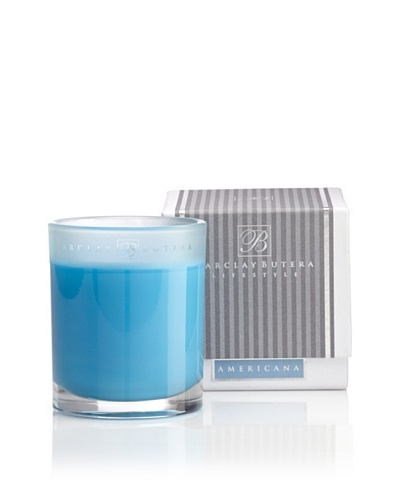 Barclay Butera Candles Americana 100-Hour Burn Time Scented Candle [Blue]