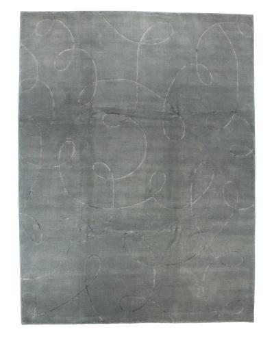 Bashian Kodari Rug, Light Blue, 9' x 12'