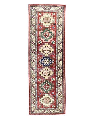 Bashian Rugs Fine Kazak Rug, Red, 2' 8 x 8' 2 Runner