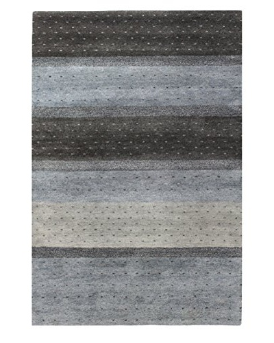 Bashian Wool Tufted Rug, Charcoal, 5' x 7' 6