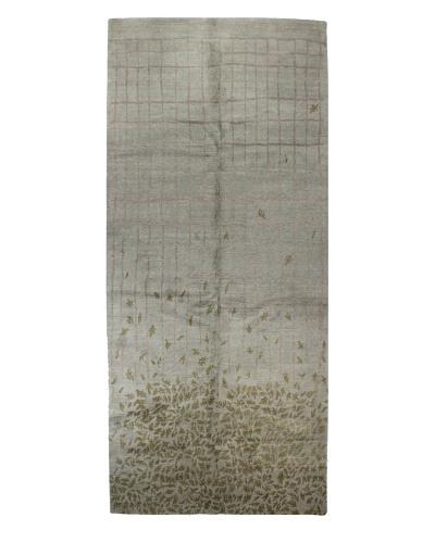 Bashian Tibetan Rug, Sky, 6' 2 x 14' Runner