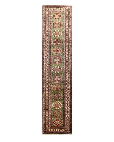 Bashian Fine Kazak Rug, Green, 2' 8 x 11' 6