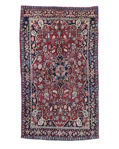 Bashian Bijar Rug, Red, 4' x 7'