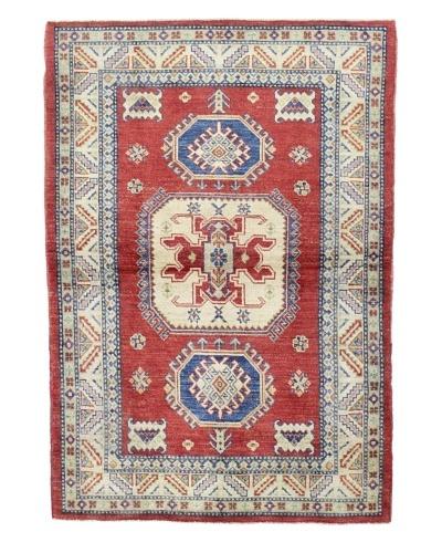 Bashian Pak Kazak Rug, Red, 4' x 5' 10
